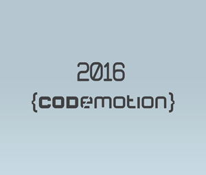 codemotion 2016